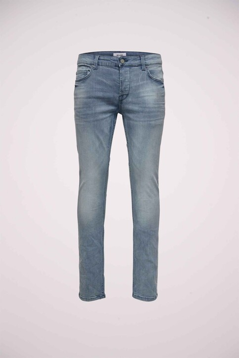 ONLY & SONS® Jeans slim gris 22013627_3627 GREY DENIM img1