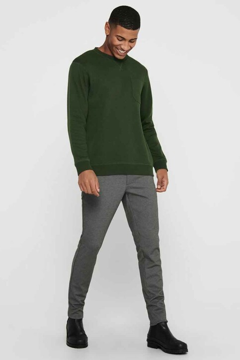 ONLY & SONS® Sweaters met ronde hals groen 22017702_ROSIN img2