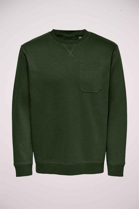 ONLY & SONS® Sweaters met ronde hals groen 22017702_ROSIN img4