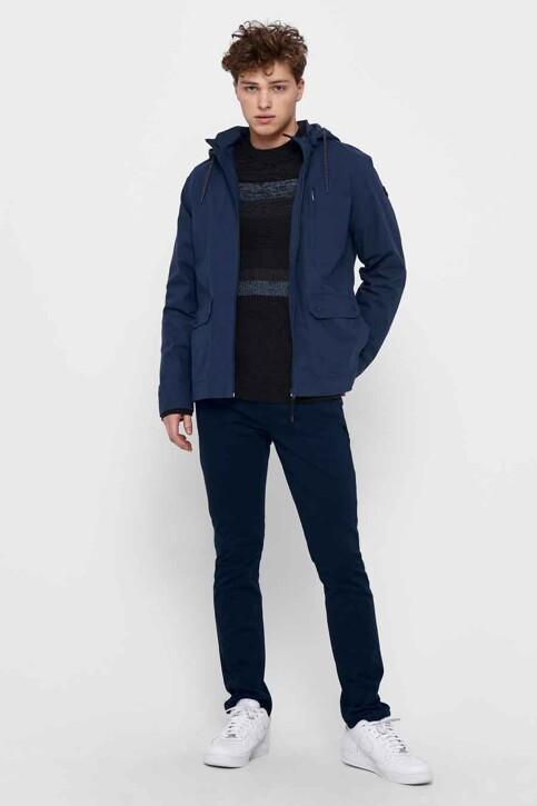 ONLY & SONS® Jassen (kort) blauw 22017815_DRESS BLUES img1