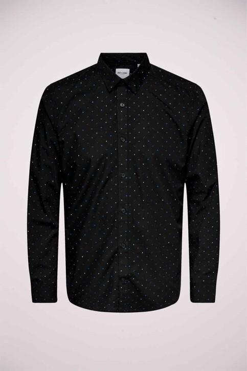 ONLY & SONS® Hemden (lange mouwen) zwart 22018860_BLACK img1