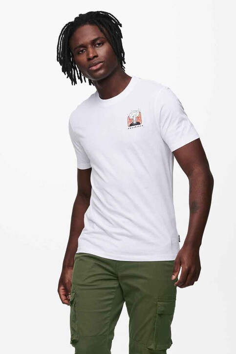 ONLY & SONS® T-shirts (korte mouwen) wit 22019089_WHITE img2