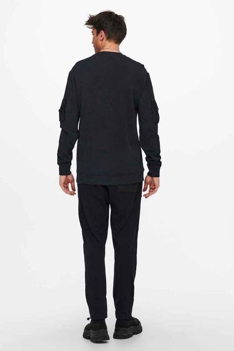 ONLY & SONS® Sweaters met ronde hals zwart 22019096_BLACK img2
