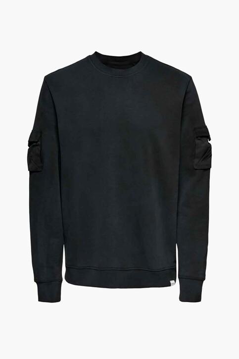 ONLY & SONS® Sweaters met ronde hals zwart 22019096_BLACK img5