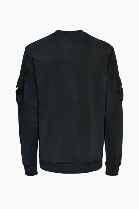 ONLY & SONS® Sweaters met ronde hals zwart 22019096_BLACK img6