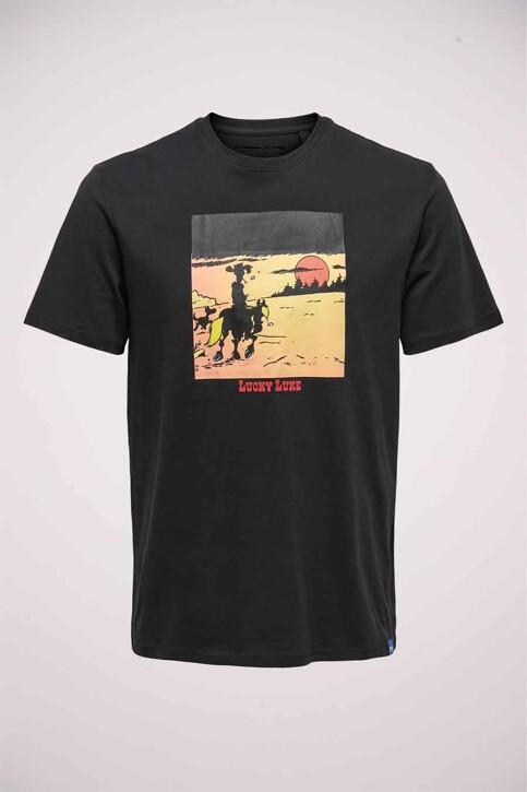 ONLY & SONS® T-shirts (korte mouwen) zwart 22019234_BLACK img1