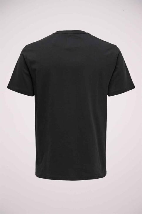 ONLY & SONS® T-shirts (korte mouwen) zwart 22019234_BLACK img2