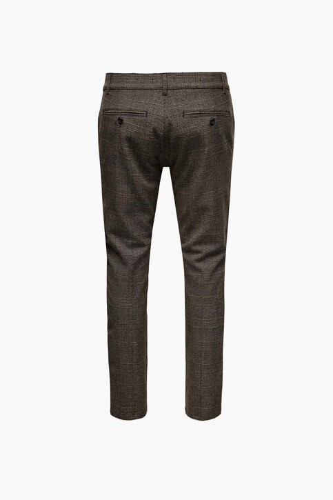 ONLY & SONS® Kostuumbroeken zwart 22019891_SLATE BLACK img2
