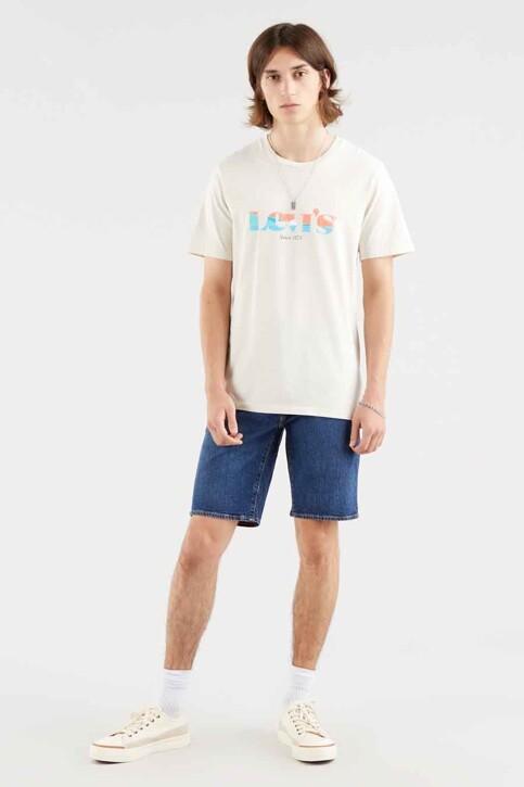 Levi's® T-shirts (korte mouwen) ecru 224910855_0855 OATMEAL img2