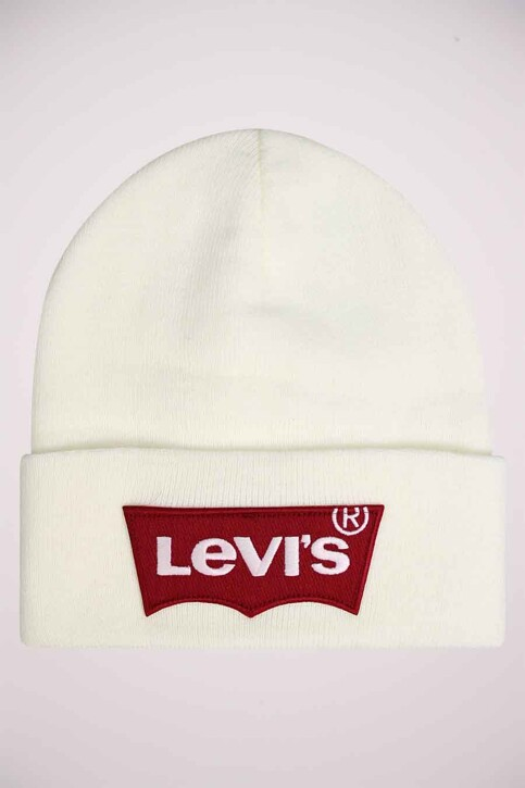 Levi's® Accessories Bonnets blanc 228633_51 WHITE img2