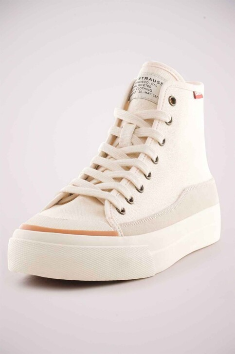 Levi's® Accessories Sneakers wit 233008636_21 ECRU img2
