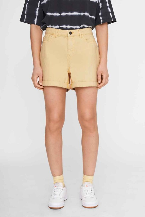 NOISY MAY Shorts geel 27012362_GOLDEN HAZE img1