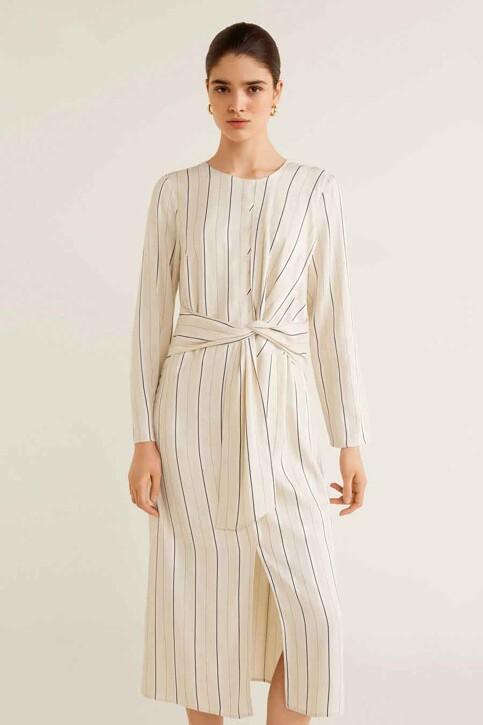 Mango Robes 3/4 blanc 41040739_MNG_19_NATURAL WHITE img1