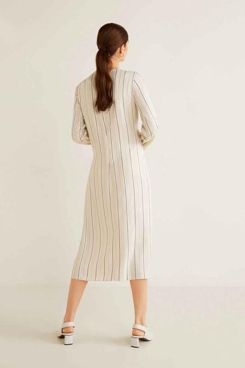 Mango Robes 3/4 blanc 41040739_MNG_19_NATURAL WHITE img3