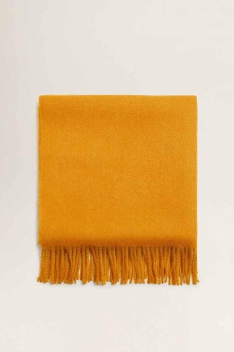 Mango Echarpes jaune 43010636_MNG_19_MEDIUM YELLOW img1