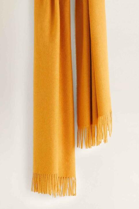Mango Echarpes jaune 43010636_MNG_19_MEDIUM YELLOW img4