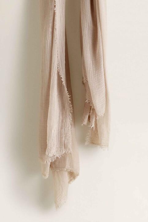 Mango Foulards blanc 43035784_MNG_19_NATURAL WHITE img4
