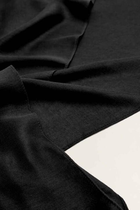 Mango Foulards noir 43065781_MNG_19_BLACK img2