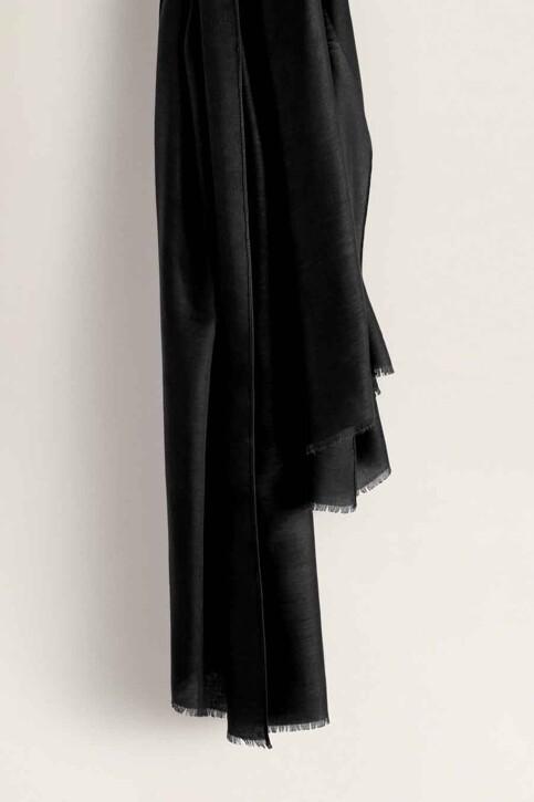 Mango Foulards noir 43065781_MNG_19_BLACK img4