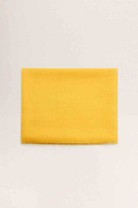 Mango Foulards jaune 43065781_MNG_19_MEDIUM YELLOW img1
