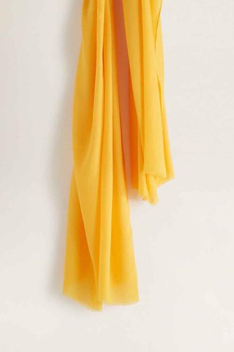 Mango Foulards jaune 43065781_MNG_19_MEDIUM YELLOW img3
