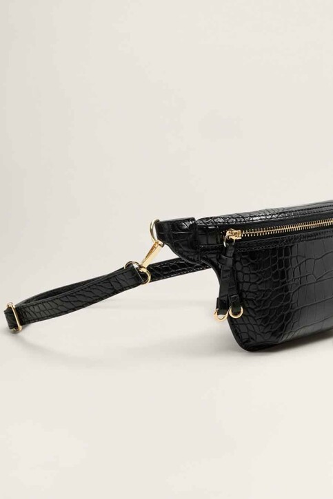 Mango Handtassen zwart 43080835_MNG_19_BLACK img5