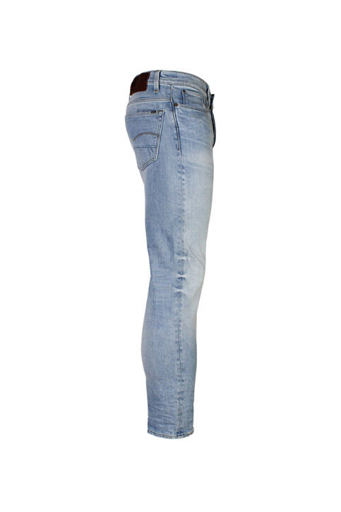 G-Star RAW Jeans slim blauw 510036997_LT AGED 424 img3