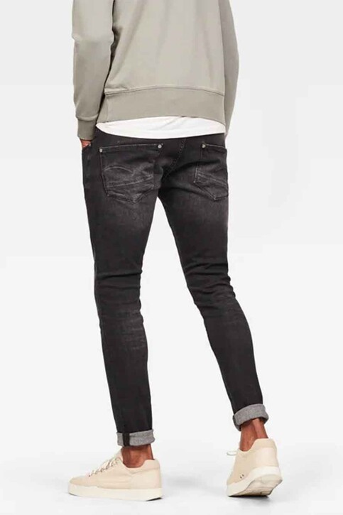 G-Star RAW Jeans skinny gris 51010A634_A592ELTO BL FA img3