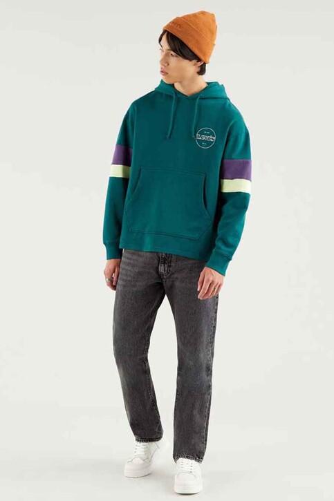 Levi's® Sweaters met kap multicolor 522900004_0004 COLOR BLOC img1