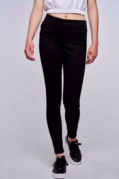 Levi's® Jeans skinny zwart 527970000_0000 BLACK GALA img1