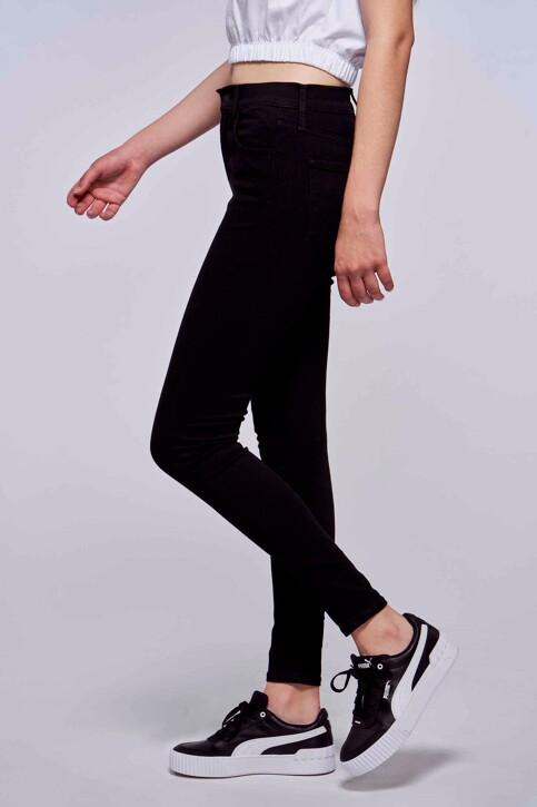 Levi's® Jeans skinny zwart 527970000_0000 BLACK GALA img2