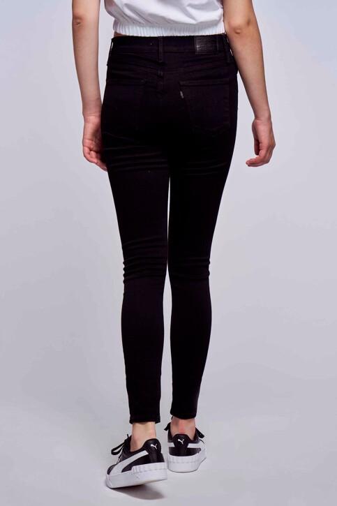 Levi's® Jeans skinny zwart 527970000_0000 BLACK GALA img3