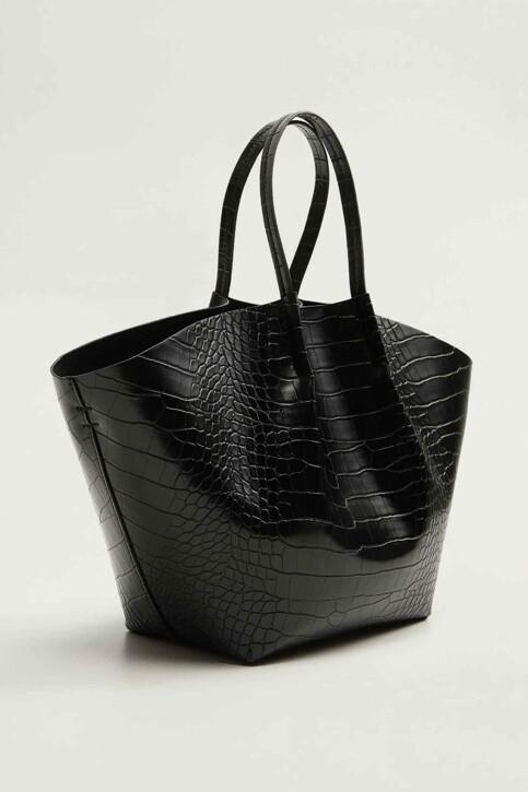 Mango Sacoches noir 53023750_MNG_19_BLACK img2