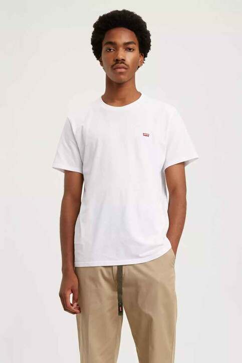 Levi's® T-shirts (manches courtes) blanc 566050000_0000WHITE img1