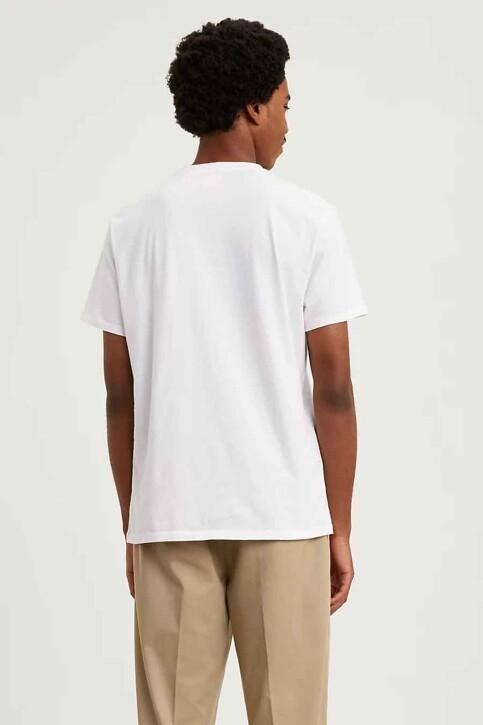 Levi's® T-shirts (manches courtes) blanc 566050000_0000WHITE img2