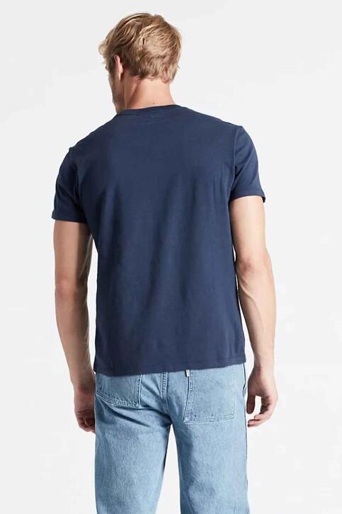 Levi's® T-shirts (korte mouwen) blauw 566050017_0017 BLUE img2