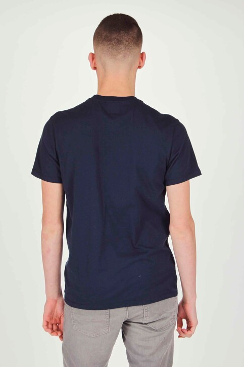 Levi's® T-shirts (korte mouwen) blauw 566050017_0017 BLUE img3