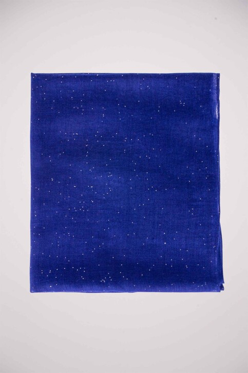 Morgan De Toi Zomersjaals blauw 5FUNIP_BLEU img1