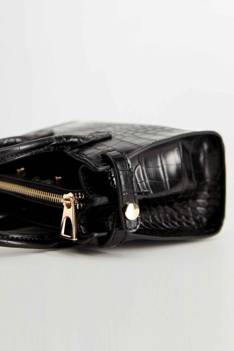 Mango Handtassen zwart 67031503_MNG_20_BLACK img4