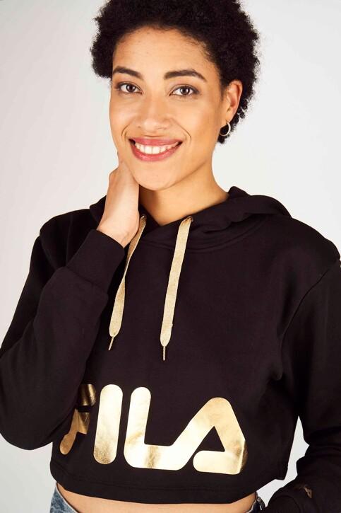 FILA Sweaters met kap zwart 687829_BLACK img1