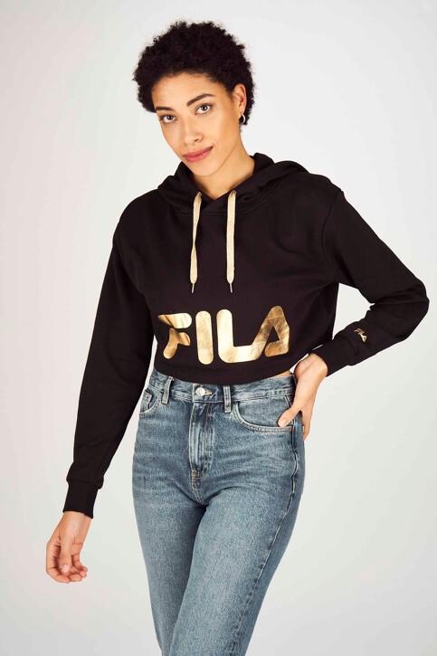 FILA Sweaters met kap zwart 687829_BLACK img4