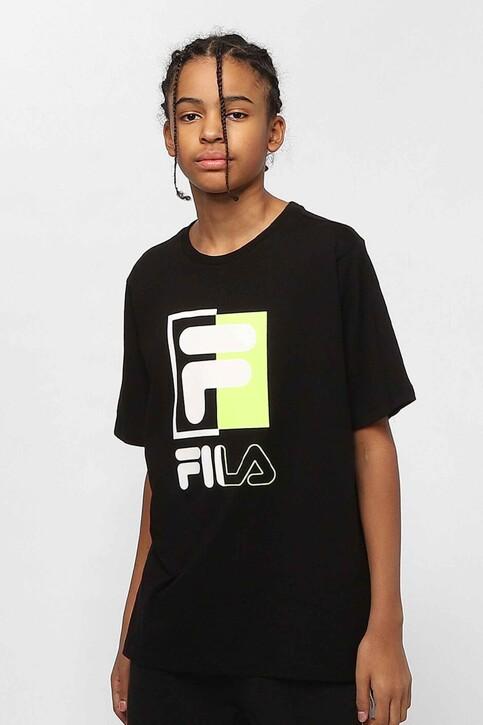 FILA T-shirts met korte mouwen zwart 688049_002 BLACK img1