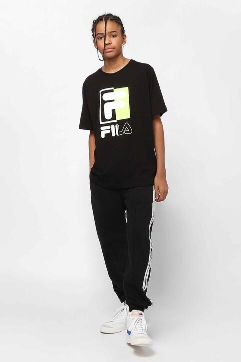FILA T-shirts met korte mouwen zwart 688049_002 BLACK img2