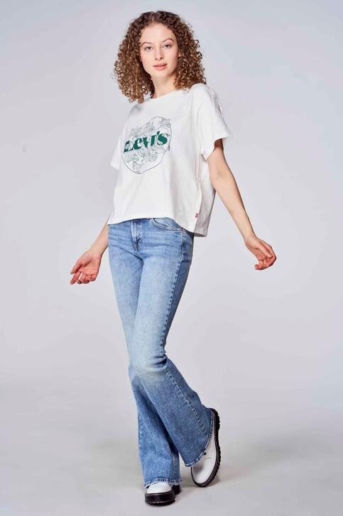 Levi's® T-shirts (korte mouwen) wit 699730150_0150 OUTLINE FL img1