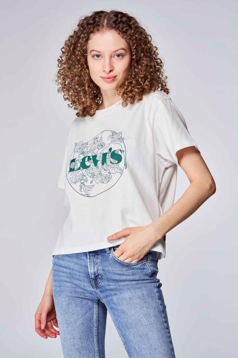 Levi's® T-shirts (korte mouwen) wit 699730150_0150 OUTLINE FL img2