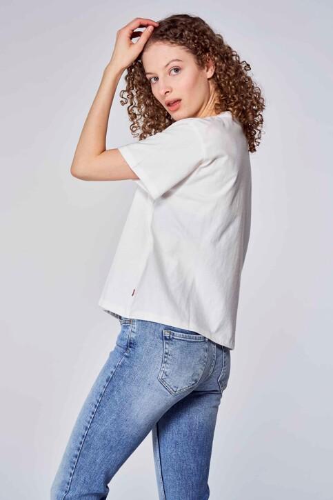 Levi's® T-shirts (korte mouwen) wit 699730150_0150 OUTLINE FL img3