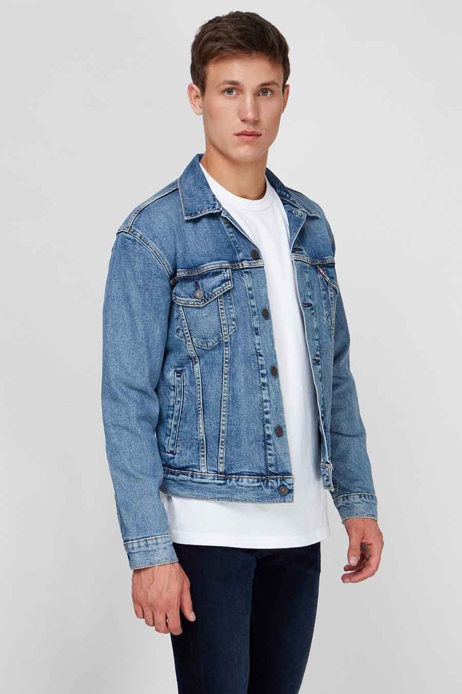 Levi's® Jas jeans, Denim, Heren, Maat: M/S/XL/XXL
