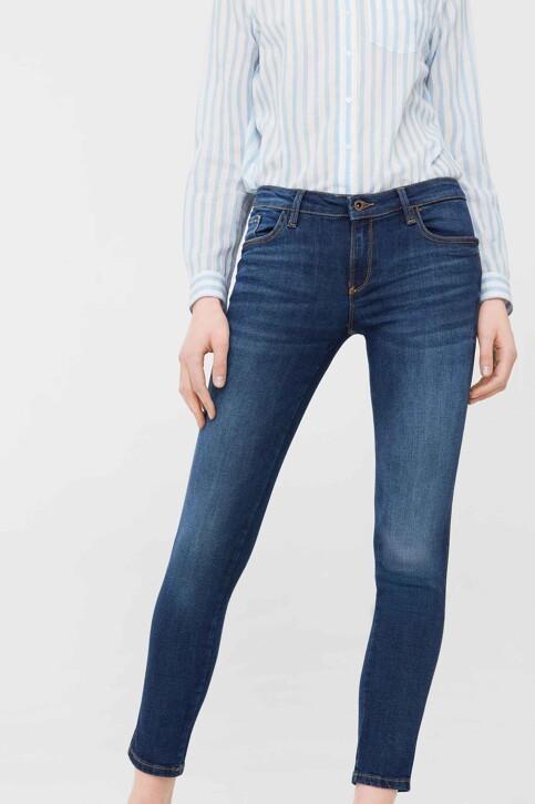 Mango Jeans skinny MID BLUE DENIM 83030059_MNG_17_OPEN BLUE img1