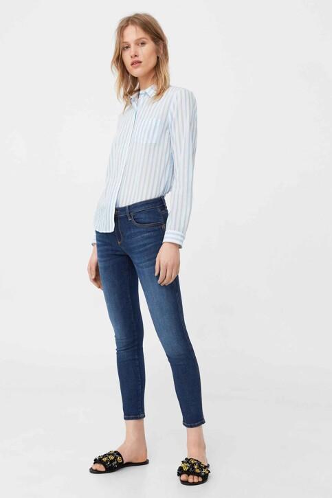 Mango Jeans skinny MID BLUE DENIM 83030059_MNG_17_OPEN BLUE img2