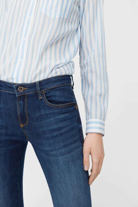 Mango Jeans skinny MID BLUE DENIM 83030059_MNG_17_OPEN BLUE img4